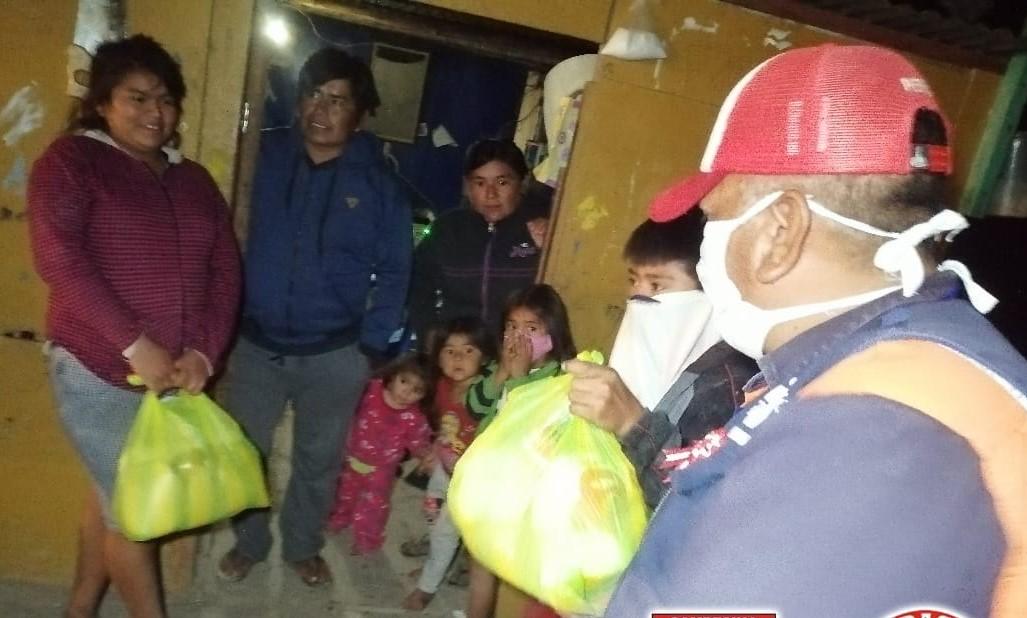 Caletas de Playa Blanca, A.H. 28 DE Julio en Sechura y Los Ronderos de Parachique se benefician con más víveres.