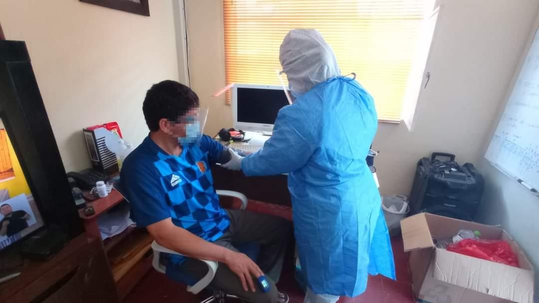 Municipalidad Distrital Veintiséis de Octubre asiste a trabajadores con coronavirus