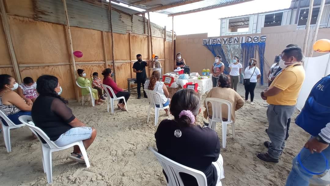 Municipalidad Distrital Veintiséis de Octubre inaugura ocho comités del Programa Vaso de Leche.